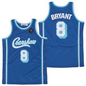 Los Angeles Lakers 8 Kobe Bryant Blue Jersey (2)